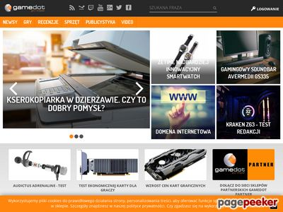 Gamedot - sklepy i portal dla graczy