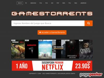 Unblock Gamestorrents.com