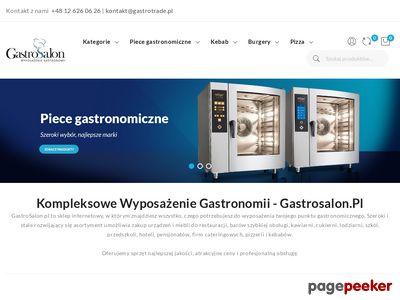 Wyposażenie gastronomii - gastrosalon.pl