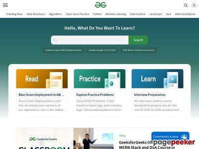 geeksforgeeks.org thumbnail