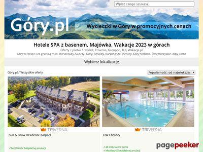 Gory.pl - hotele, SPA, noclegi w górach