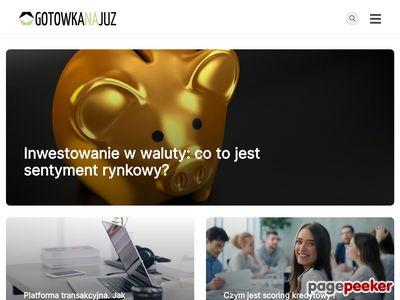 Kredyty bez zaświadczeń przez internet - gotowkanajuz.pl