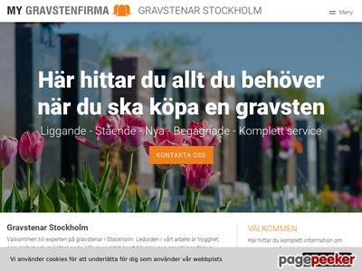 Gravstenar Stockholm - Personlig utforming och design - http://gravstenar-stockholm.se