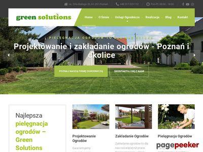 Green Solutions – zakładanie ogrodów Poznań