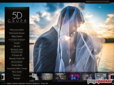 Grupa 5D - fotograf ślubny i kamerzysta