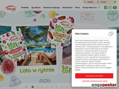 Helio S.A. - Bakalie, owoce suszone, orzechy.