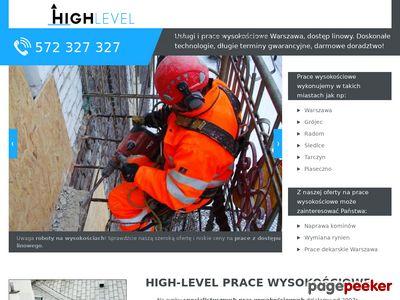 High Level - Prace wysokościowe