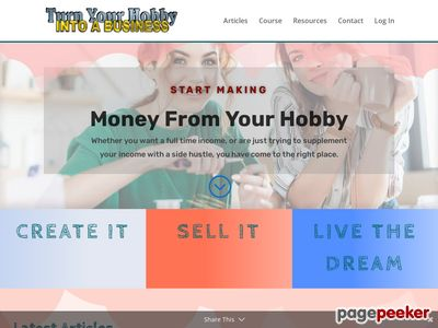 hobbyintobusiness Turn Your Hobby Into A Business