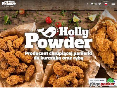 Marynata i panierka do kurczaka-Hollypowder.pl