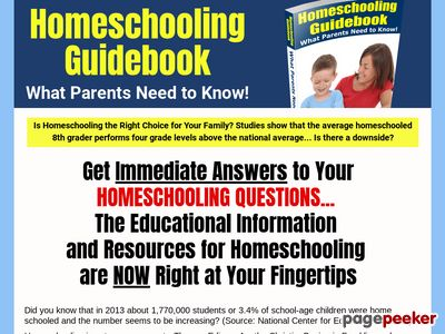 Home Schooling Guidebook - What Parents Need to Know 1