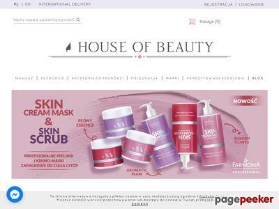 House of Beauty - sklep internetowy z kosmetykami