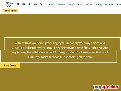 Studio animacji i filmów w Poznaniu - animacje i produkcja filmów dla firm
