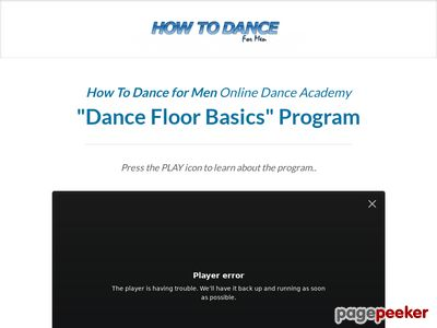 Dance101 Just For Men - Gain Confidence Have Fun,not Look Silly 1