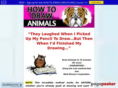 How To Draw Animals – Cartoon Style – Step by Step 1