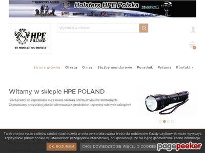 Militaria sklep Hpe.pl