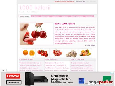 Dieta 1000 kcal