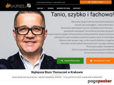 Biuro tłumaczeń w Krakowie