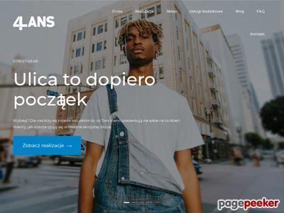 Produkcja koszulek - 4lans.pl