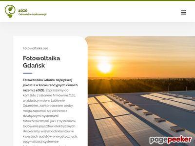 Http://4oze.pl/ systemy fotowoltaiczne