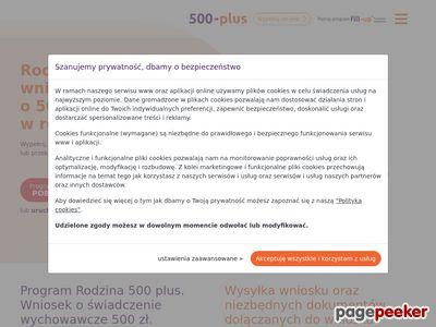 500 złotych na dziecko