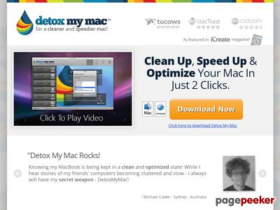 Detox My Mac™ – Clean Up and Speed Up Your Mac!