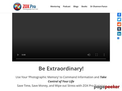 zoxpro - ZOX Pro Training - ZOXpro.com