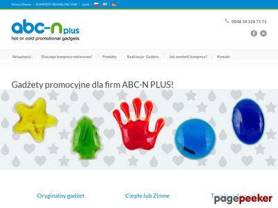 ABC-N PLUS - gadżety promocyjne, okulary żelowe, kompresy