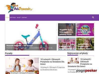 Achdzieciaki.pl - najlepszy sklep z zabawkami