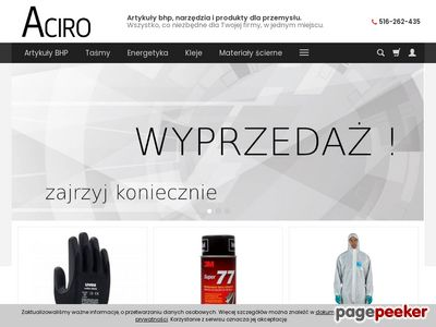 Artykuły BHP - Aciro.pl