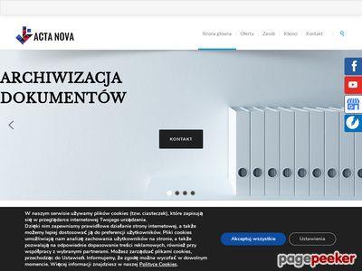 ACTA NOVA depozyt dokumentów