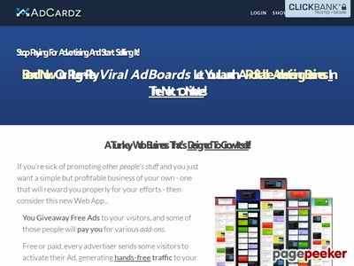 Turnkey Advertising Business – AdCardz.com