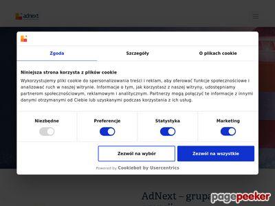 Adnext.pl - kampania w blogosferze