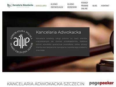 Kancelaria adwokacka w Szczecinie - adwokat-karkosza.pl