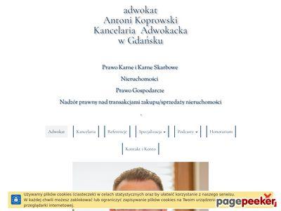 Adw. Antoni Koprowski Kancelaria Adwokacka