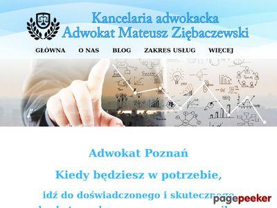 Adwokat radca prawny prawnik kancelaria Poznań Łódź porady