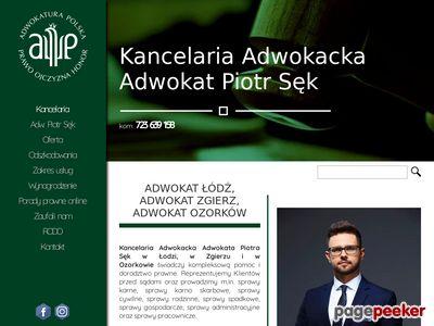 Adwokat Zgierz Adwokat Łódź Piotr Sęk