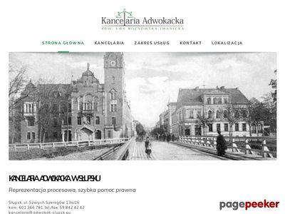 Prawnik Słupsk Ewa Rożnowska-Iwanicka