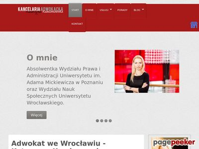 Katarzyna Kamienowska Kancelaria Adwokacka