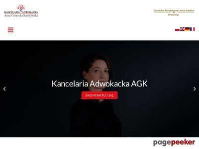 Adwokatagk.pl - prawnik katowice