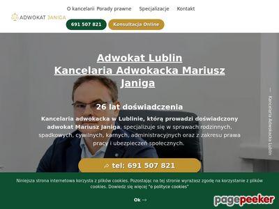 Kancelaria Adwokacka Adwokat Mariusz Janiga