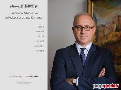 Adwokatklimont.pl obsługa prawna spółek Puławy