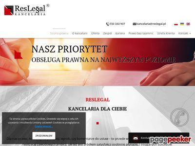 Adwokat Rzeszów Kancelaria adwokacka