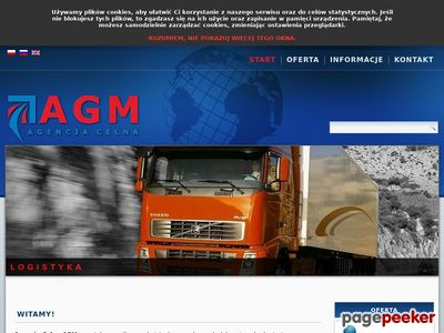 AGM Agencja celna intrastat Białystok