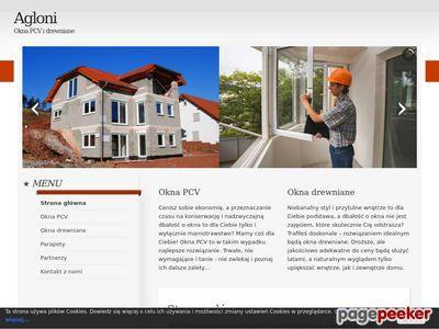 Agloni.pl - okna drewniane i PCV