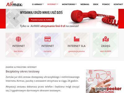 AirMAX - Dostawca Internetu - Internet Service Provider