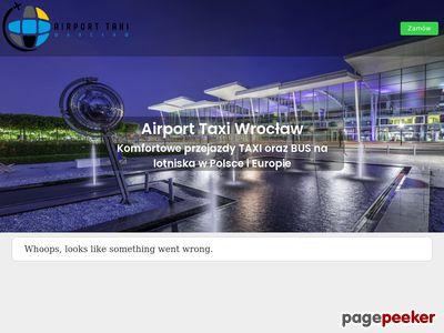 Transfer z lotniska Wroclaw Airport Taxi