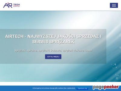 www.airtech.pl sprężarki śrubowe