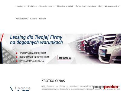 Http://ajbfinance.pl/