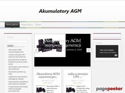 Akumulatory AGM i Akumulatory żelowe