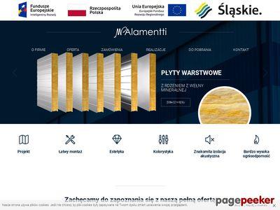 MP-Alamentti producent płyt warstwowych
